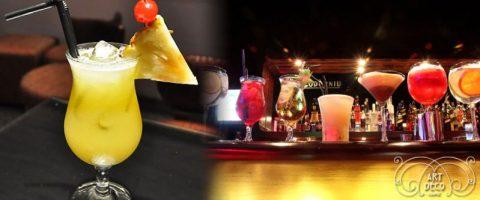 Un brindis con sabor a Chaplin en Art Déco Lounge
