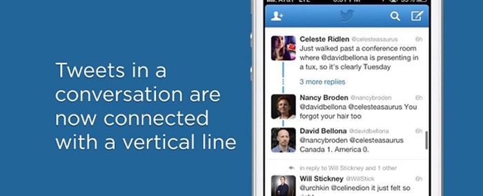 Twitter lanza actualización para web y Android