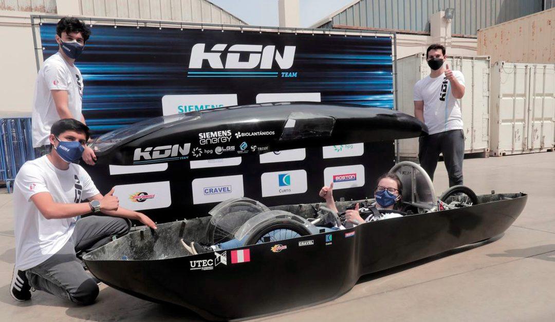 Estudiantes peruanos competirán en certamen internacional con vehículo eléctrico