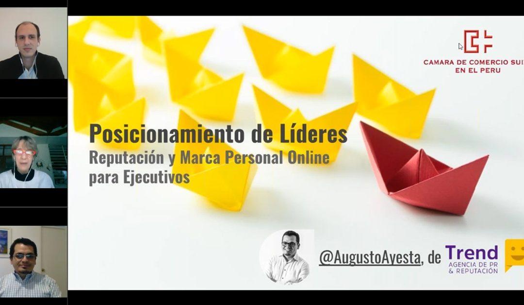 Posicionamiento de líderes: Reputación y marca personal para ejecutivos
